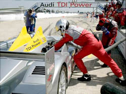 Audi Turbo Diesel wins Sebring.